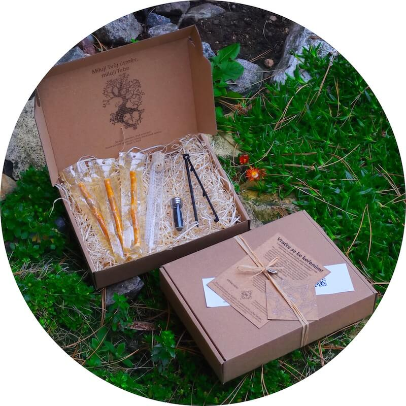 Give smile gift box of rawtoothbrushes