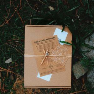 dárková krabička daruj úsměv