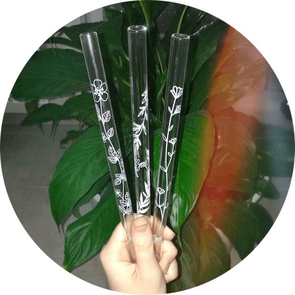 brčka z českého borosilikátového skla s designovým potiskem