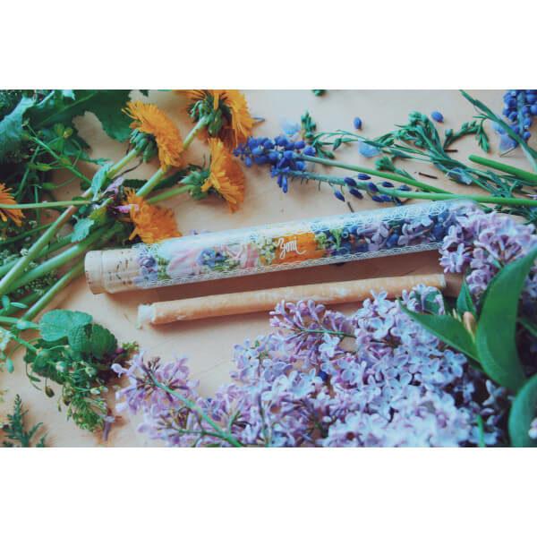 pouzdro na přírodní kartáček ze salvadory perské je vyrobeno z českého borosilikátu