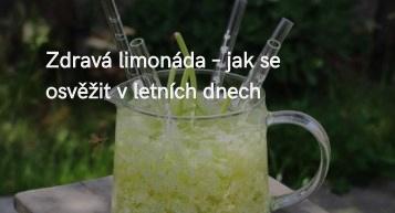 zdravá limonáda - jak se osvěžit v létě
