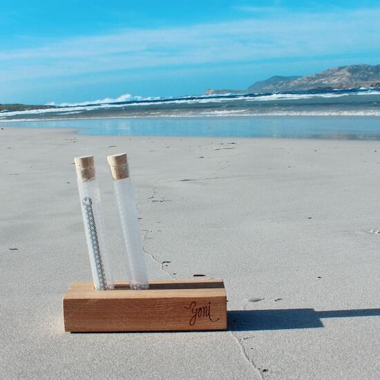rawtoothbrush on the beach