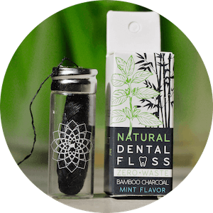 dental floss from bamboo Charcoal